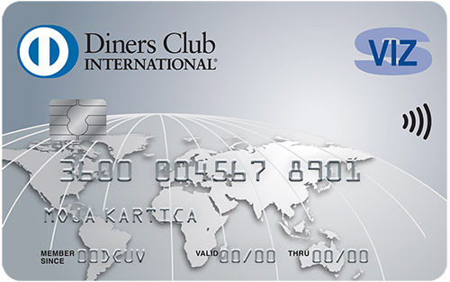 Kartica Diners Club Sviz