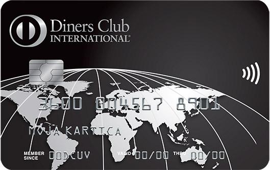 Diners Club Exclusive kartica