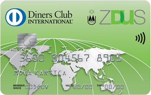 Kartica Diners Club ZDUS
