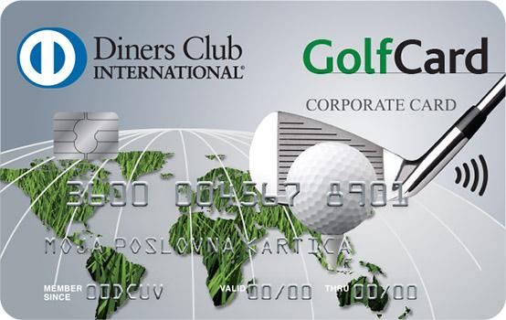 Kartica Diners Club Golf Poslovna