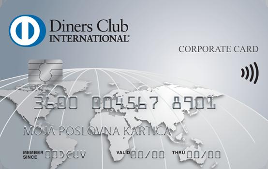 Kartica Diners Club klasična poslovna