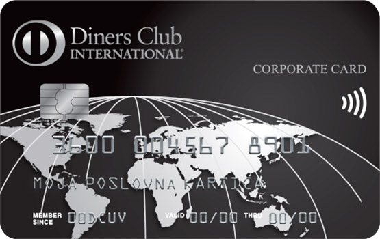 Kartica Diners Club Exclusive Poslovna
