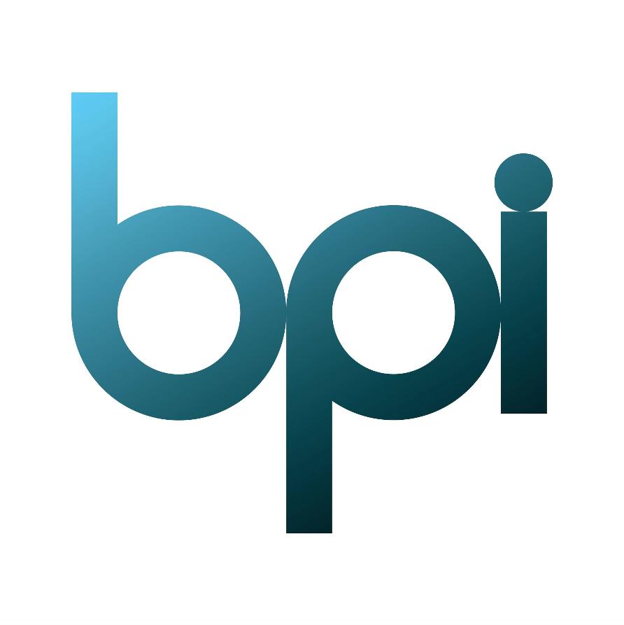 BPI (i.e. British Phonographic Industry) Logo