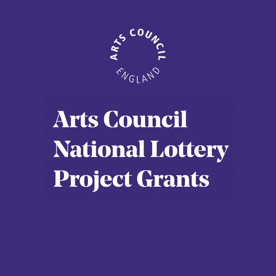 Arts Council England - National Lottery Project Grants Logo