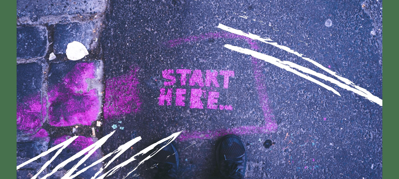 Start here on street