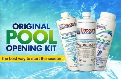 6 Chemicals you need to open your pool