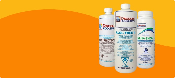 POOL OPENING CHEMICAL KITS