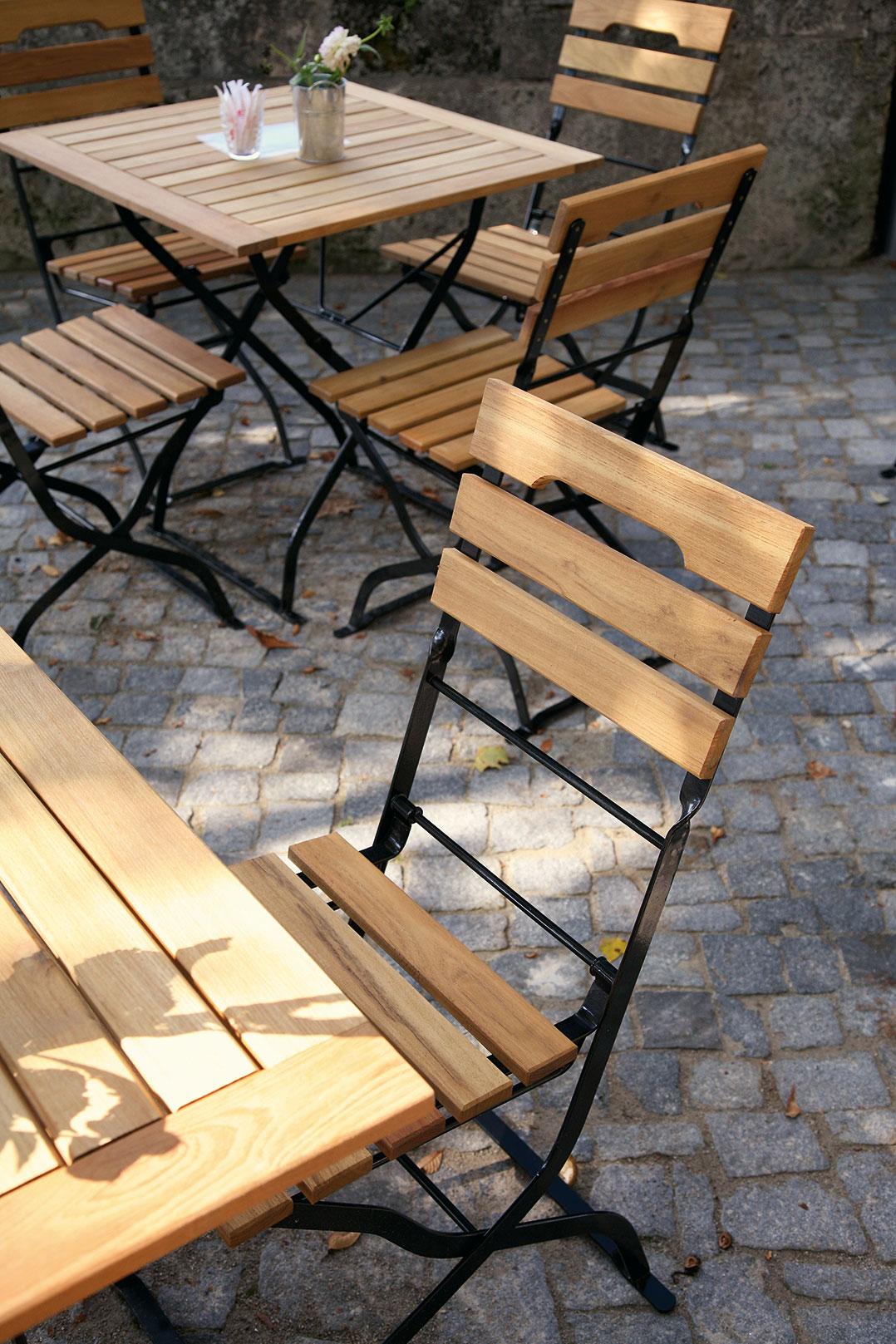 Outdoor Biergartenmöbel für Ihre Gastronomie und Hotellerie