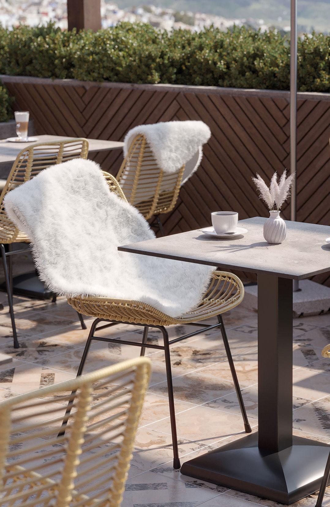Accessoires pour l'espace extérieur de votre restaurant ou hôtel