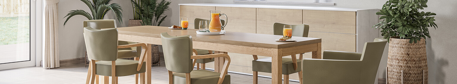 Indoor Wooden tables for your restaurant or hotel