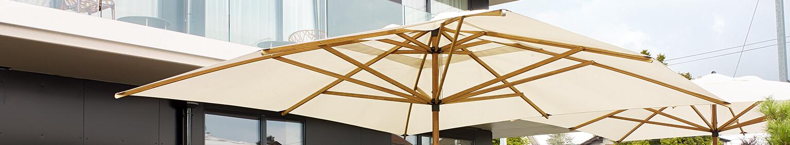 Parasols pour votre restaurant ou hôtel