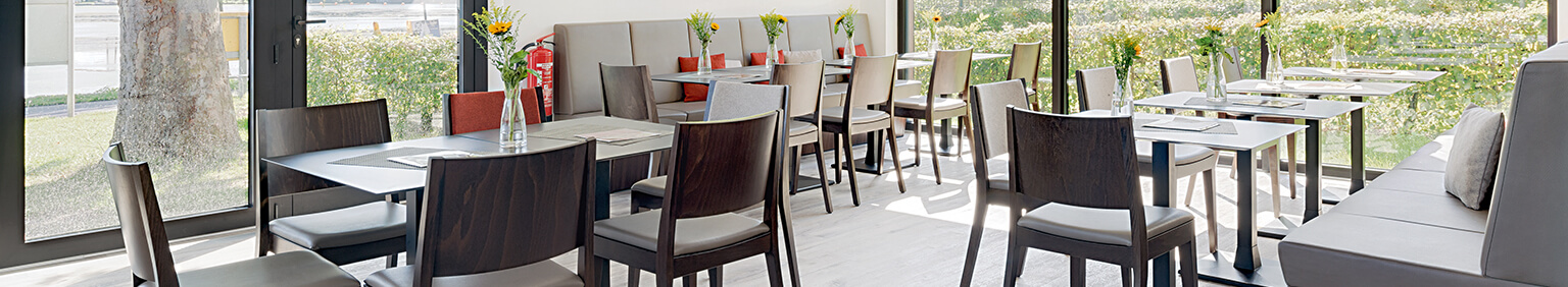 Indoor Restaurant chairs for your restaurant or hotel