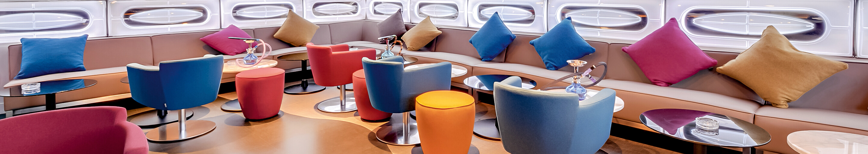 Indoor Club furniture for your restaurant or hotel