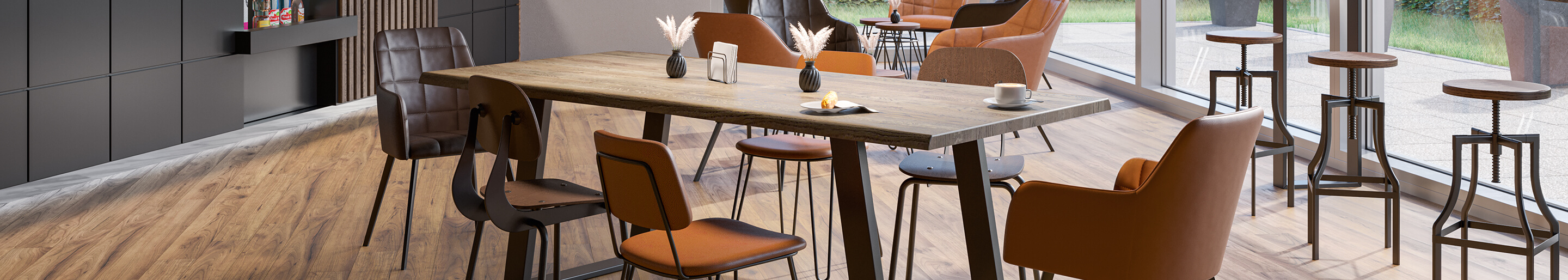 Indoor Tables for your restaurant or hotel