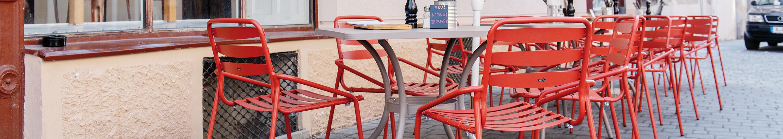 Chaises en métal pour votre restaurant ou hôtel