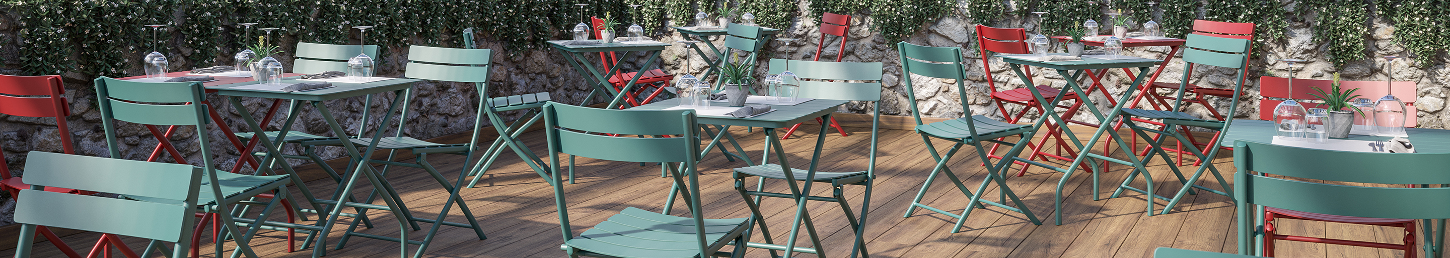 Outdoor furniture for your restaurant or hotel