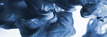 Inspiration design intérieur gastronomie - nuage de couleur bleu - GO IN