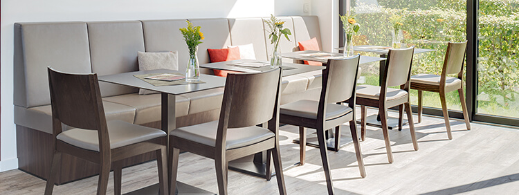 Indoor chairs for your restaurant or hotel