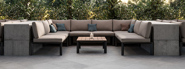 Outdoor furniture by category