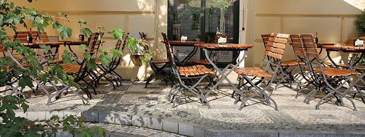 Outdoor Beer garden chairs for your restaurant or hotel