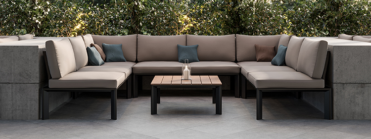 Outdoor Lounge furnitures for your restaurant or hotel