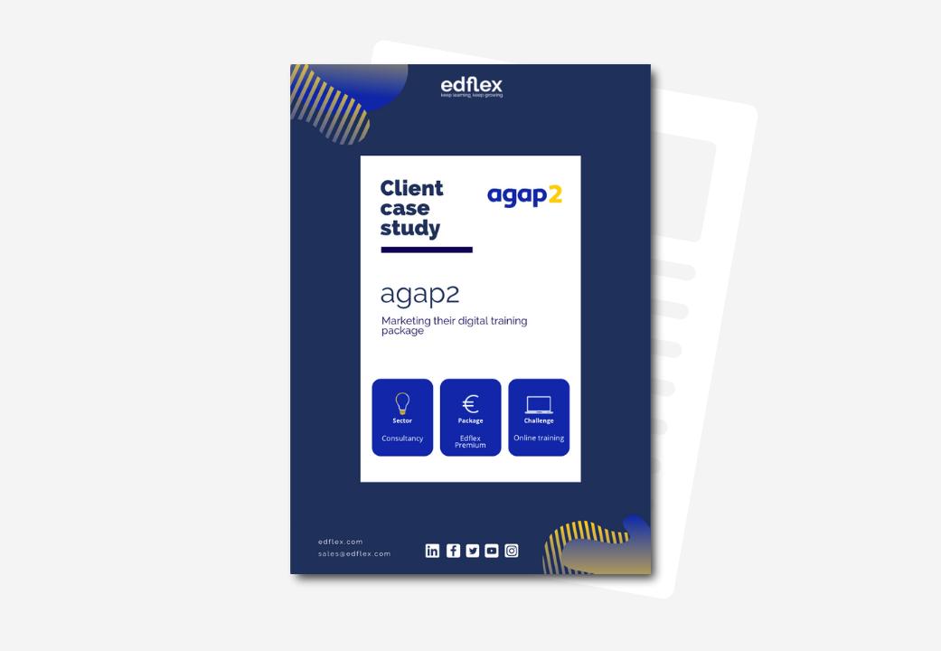 Cover business case agap2 edflex