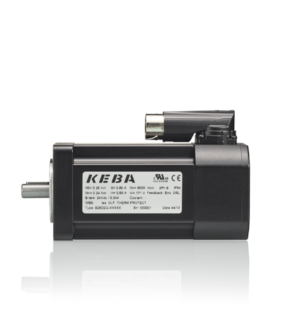 KeDrive DMS2 motor with safety encoder