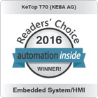 KeTop T70 - Automation Inside Readers' Choice Awards 2016